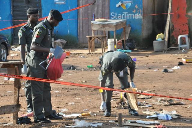 Boko Haram, affilié à l'Etat islamique a revendiqué... (Photo Gbenga Olamikan, archives AP)