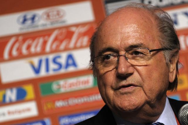 Sepp Blatter.... (PHOTO GIANLUIGI GUERCIA, ARCHIVES AFP)