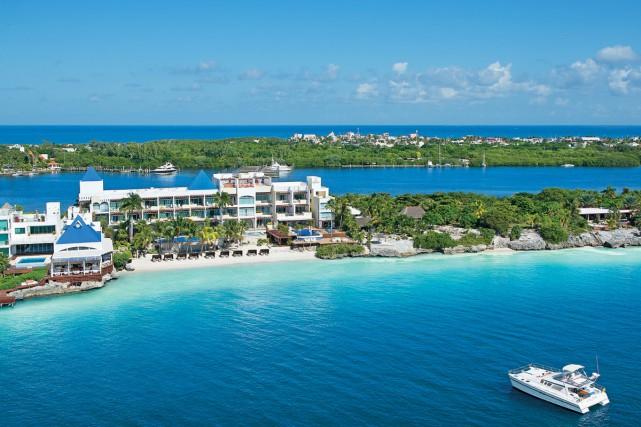 Cancún devient peu à peu une destination de... (PHOTO FOURNIE PAR L'HÔTEL ZOETRY)