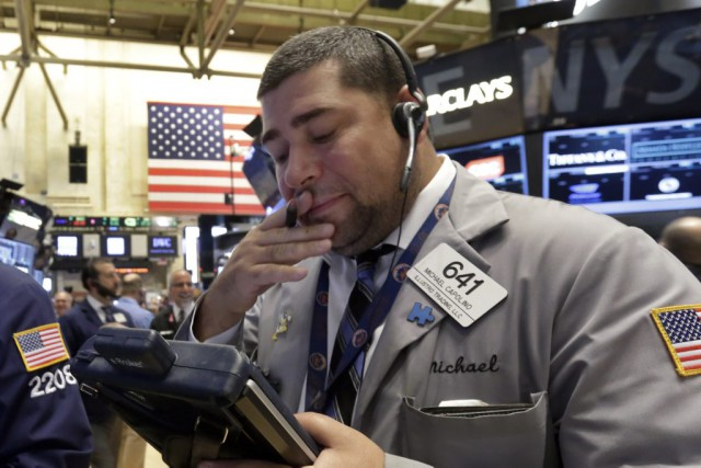 Désormais, Wall Street profite «de la force des... (Photo Richard Drew, AP)