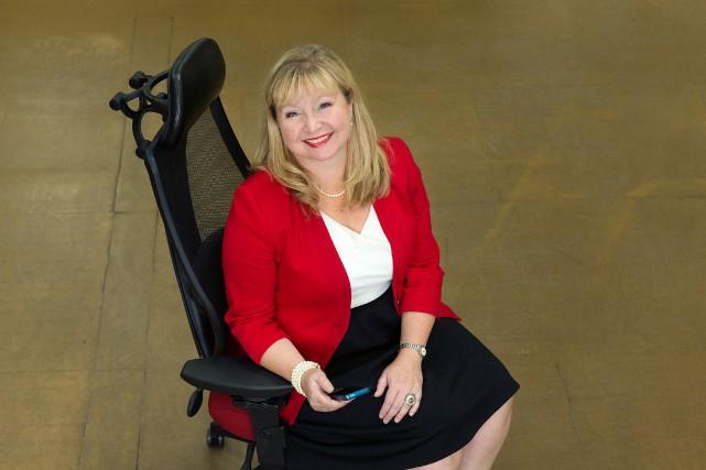 Isabelle Gagné, ergonome et présidente de Réadaptation Intergo,... (PHOTO ROBERT SKINNER, LA PRESSE)