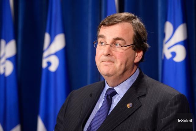 Le ministre de l'Éducation François Blais... (Photothèque Le Soleil, Jean-Marie Villeneuve)