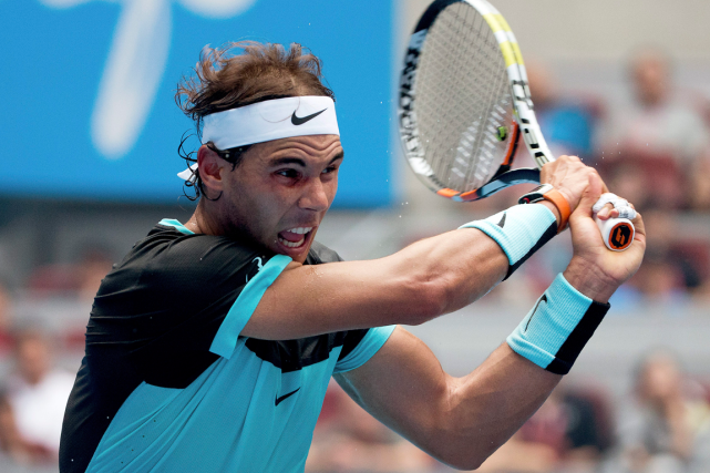 Rafael Nadal... (Photo Andy Wong, AP)