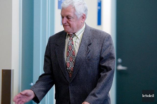 Jean-Charles Voyer, accusé de harcèlement criminel, a été... (Le Soleil, Erick Labbé)