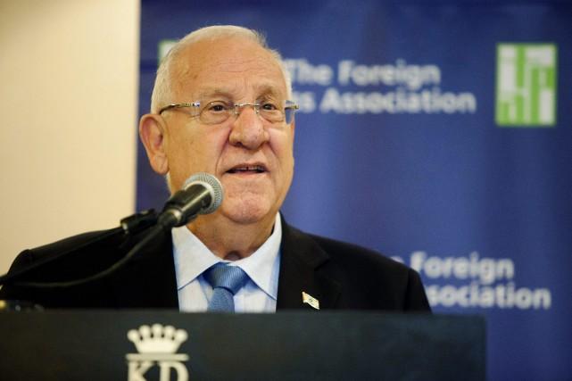 Le président israélien, Reuven Rivlin... (Photo Dan Balilty, Reuters)