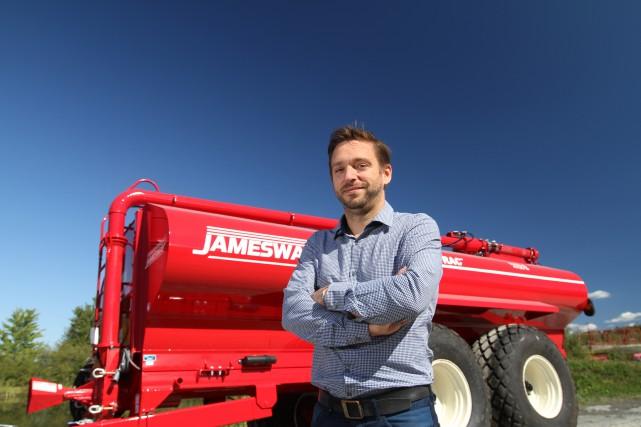 David Vallières est vice-président ventes et marketing du... (PHOTOSTÉPHANE CHAMPAGNE, COLLABORATION SPÉCIALE)