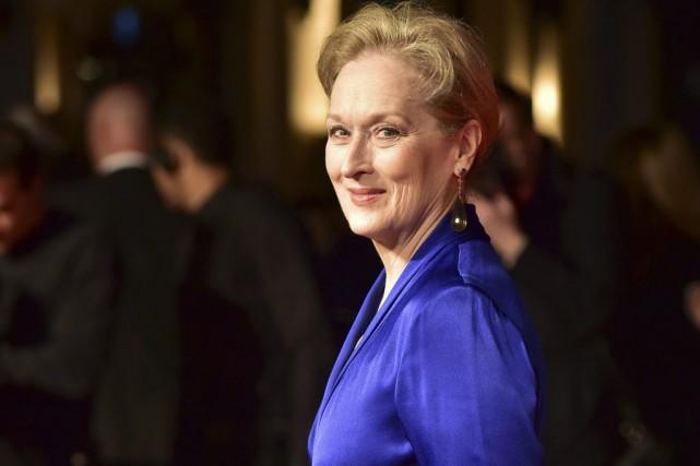 Meryl Streep à la première de Suffragette au... (PHOTO AFP)