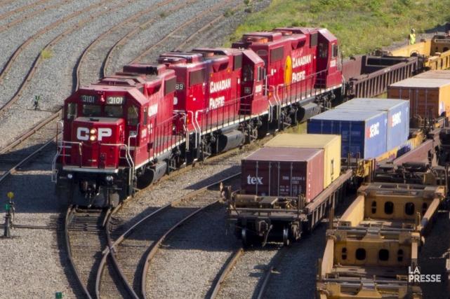 Le Canadien Pacifique (CP) serait prêt à endosser l'entente d'indemnisation des... (Archives La Presse)
