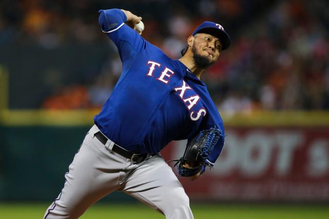 Les Rangers du Texas ont présenté un dossier... (Photo Troy Taormina, USA Today)