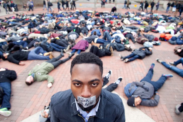 Le mouvement Black Lives Matter est né dans... (PHOTO PATRICK RECORD, ARCHIVES ASSOCIATED PRESS)