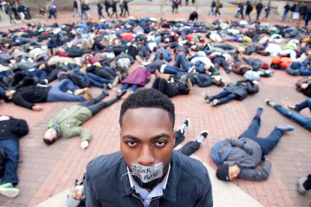 Le mouvement Black Lives Matter est né dans... (PHOTOPATRICK RECORD, ARCHIVES ASSOCIATED PRESS)