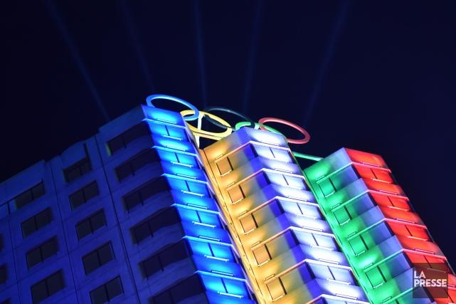 Le Comité olympique canadien à inauguré la Maison... (PHOTO BERNARD BRAULT, ARCHIVES LA PRESSE)