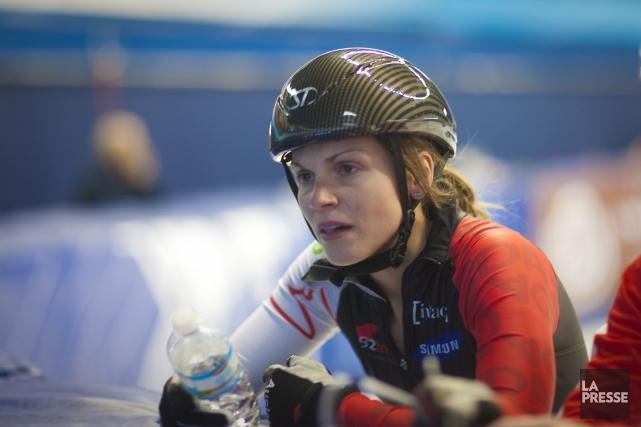 Kasandra Bradette fait partie de l'équipe canadienne féminine... (ARCHIVES LA PRESSE)