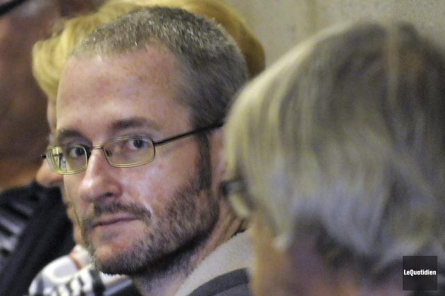 Jonathan Desmeules fera des travaux communautaires à la... ((Photo Le Quotidien-Rocket Lavoie))