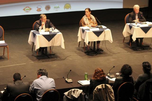 Le forum atikamekw a eu lieu, mercredi, à... (Audrey Tremblay)