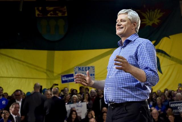 Stephen Harper paie le prix pour l'indifférence notoire... (La Presse Canadienne)