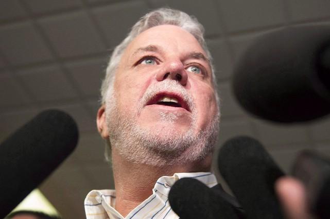 Le scepticisme du gouvernement Couillard dans ce dossier... (Jacques Boissinot, Archives La Presse Canadienne)