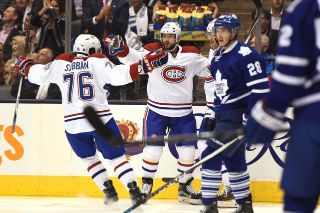 Relisez le clavardage du premier match de la saison 2015-2016 du Canadien,... (PHOTO PC)
