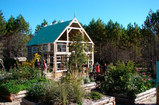 Le Parc nature de Pointe-aux-Outardes est conçu spécialement... (Collaboration spéciale Steeve Paradis)