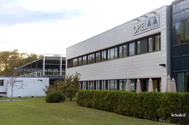 Optel Vision investit actuellement 7 millions $ pour... (Le Soleil, Jean-Marie Villeneuve)
