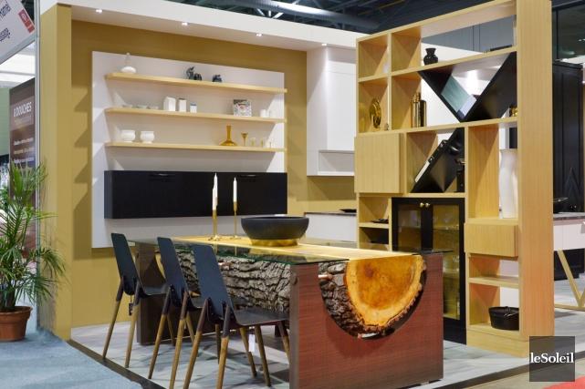 L'espace lumineux conçu par Armoire Sioui Signature est... (Le Soleil, Jean-Marie Villeneuve)