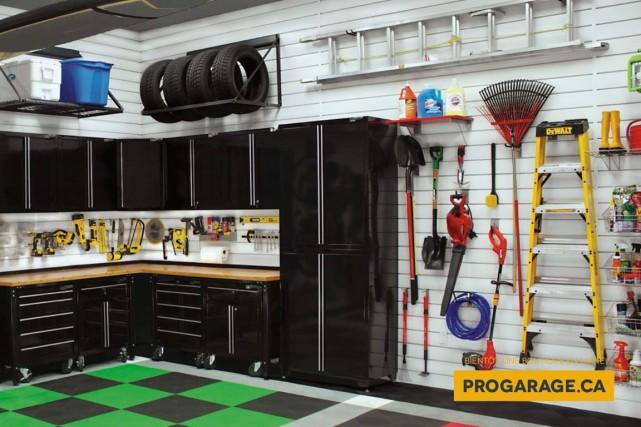 Le revêtement Proslat offre un design intéressant en... (Fournie par Pro Garage)