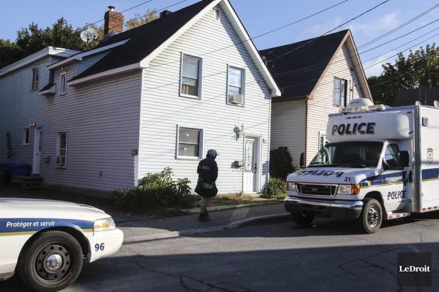 Deux suspects ont été arrêtés mercredi dans deux... (Patrick Woodbury, LeDroit)