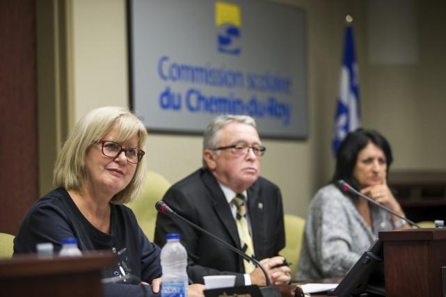 La directrice générale de la Commission scolaire du... (Olivier Croteau)