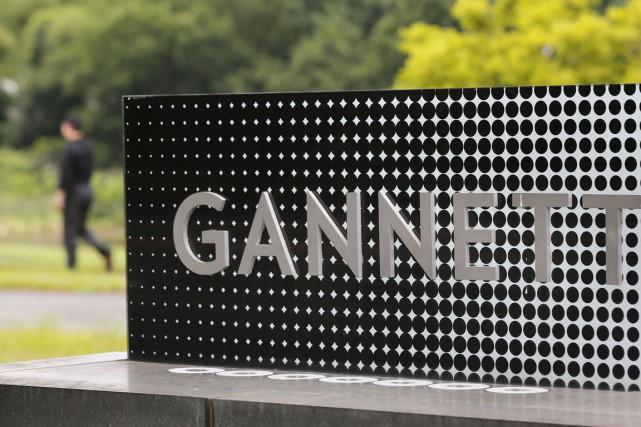 L'éditeur de journaux américains Gannett, propriétaire du quotidien USA... (Photo Reuters)