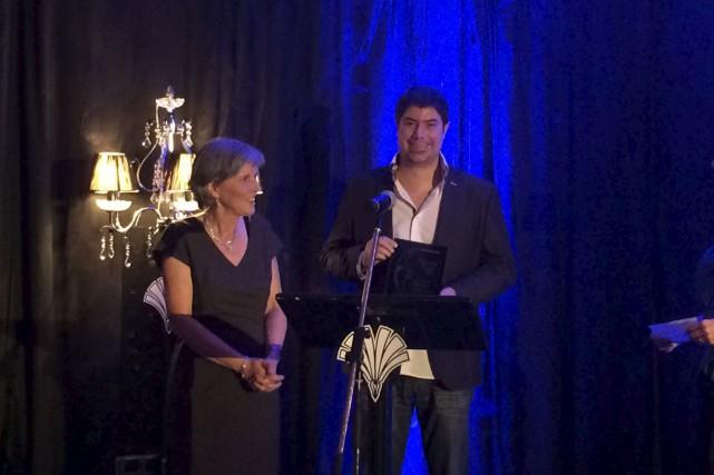 L'auteur trifluvien Guillaume Morissette a récolté deux prix... (Courtoisie)