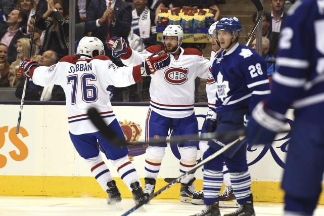 Le Canadien de Montréal a remporté son premier... (La Presse Canadienne)