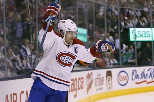 Max Pacioretty a marqué deux buts dans la... (Photo USA Today Sports)