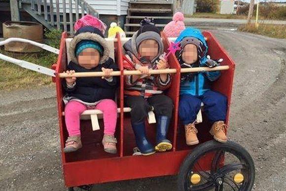 L'éducatrice Marilyne Tétreault promenait quatre enfants dans un... (PHOTO TIRÉE DE FACEBOOK)