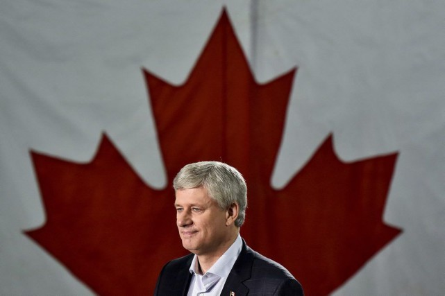 Stephen Harper... (PHOTO NATHAN DENETTE, LA PRESSE CANADIENNE)