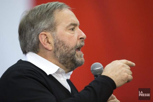 Dans sa plateforme électorale dévoilée vendredi, le chef... (AFP, Geoff Robins)