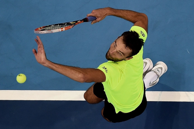 Ivo Karlovic... (Photo Manan Vatsyayana, archives AFP)