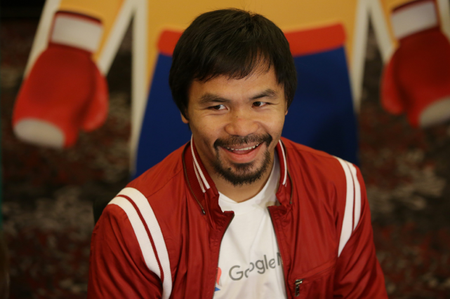 Manny Pacquiao... (Photo Aaron Favila, AP)