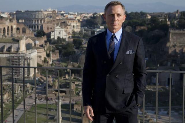 Daniel Craig lors d'une rencontre de presse à... (PHOTO ARCHIVES AP)