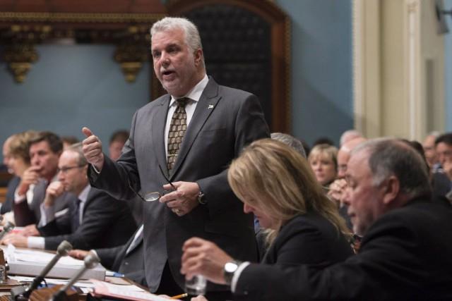 Sur le plan légal, Philippe Couillard aurait pu... (Photo Jacques Boissinot, La Presse canadienne)