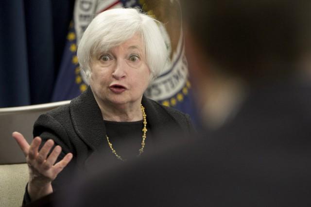 La Fed a rendu public aujourd'hui le procès-verbal... (PHOTO JACQUELYN MARTIN, ARCHIVES ASSOCIATED PRESS)