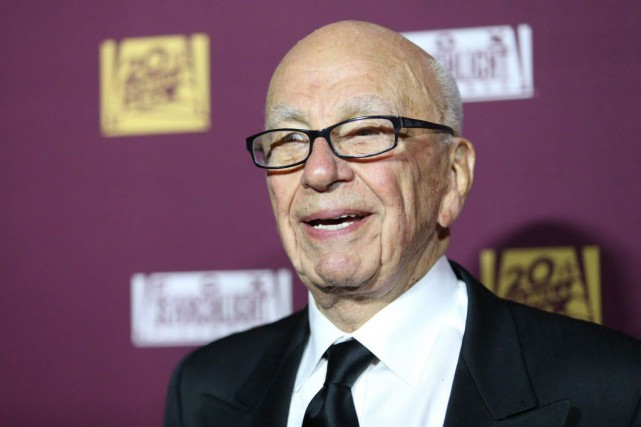 Rupert Murdoch... (Photo Omar Vega/Invision, AP)