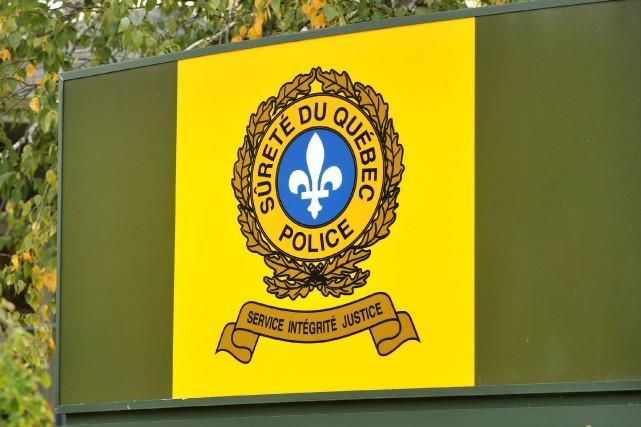 La Sûreté du Québec (SQ) est à la recherche de témoins à la suite de... (Archives La Tribune, Jessica Garneau)