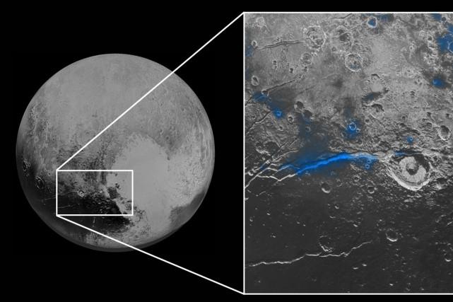 Les précédentes images envoyées par New Horizons ont... (Photo AP)