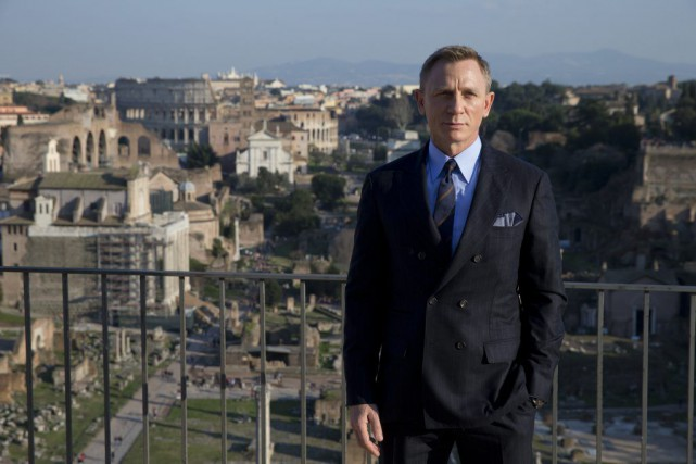 Daniel Craig reprend son rôle d'espion pour une... (Andrew Medichini, archives Associated Press)
