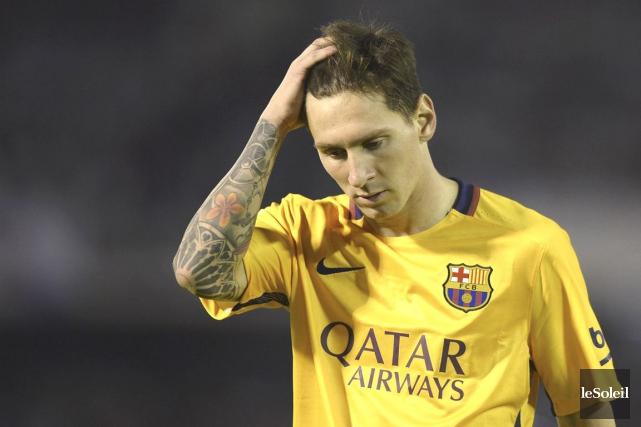 Lionel Messi... (Photothèque Le Soleil)