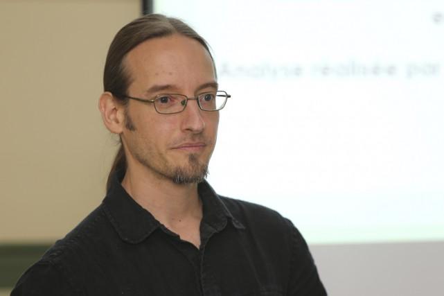 Le coordonnateur du Groupe Actions Solutions Pauvreté, Nicolas... (Photo Archives La Voix de l'Est)