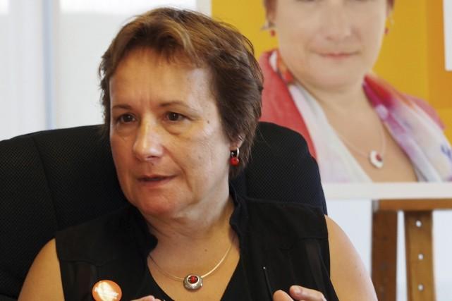 Claire Mailhot est une candidate honnête qui ne... (Photo Archives La Voix de l'Est)