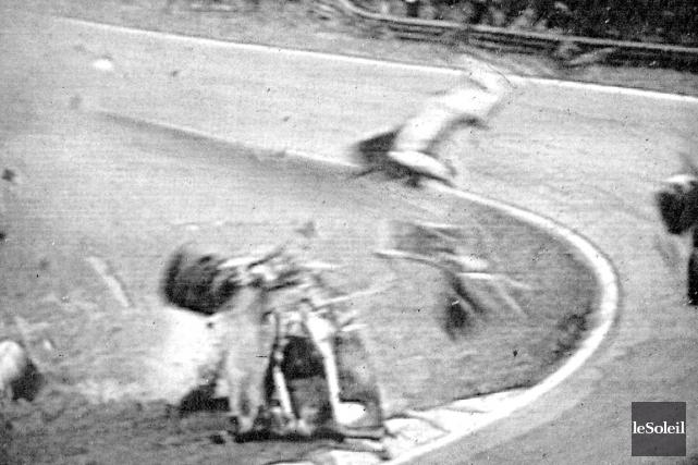 Le premier souvenir de Paul-André Tremblayaprès son accident... (Photothèque Le Soleil)