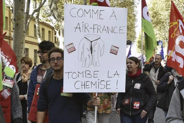 Les discussions ont jusqu'à présent échoué sur la... (PHOTO PASCAL PAVANI, AFP)
