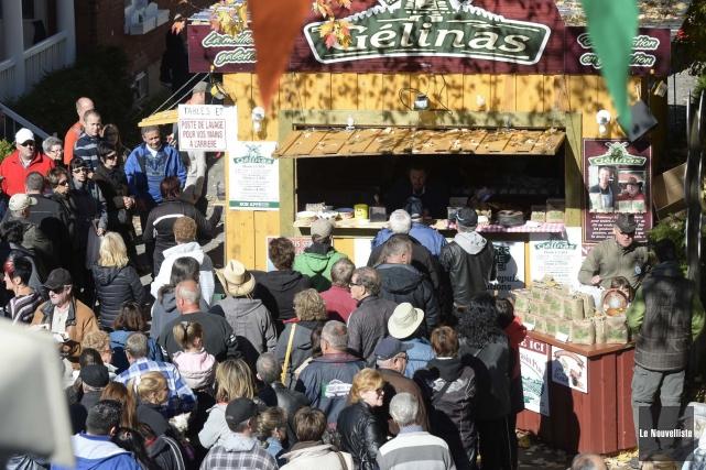 Le Festival de la galette de sarrasin de... (Photo: Sylvain Mayer Le Nouvelliste)